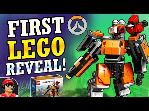LEGO Bastion Set Reveal! | Overwatch Lego + New Halloween Funko Pops! (Overwatch News)