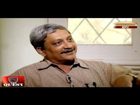 Manohar Parrikar in 'The Quest'
