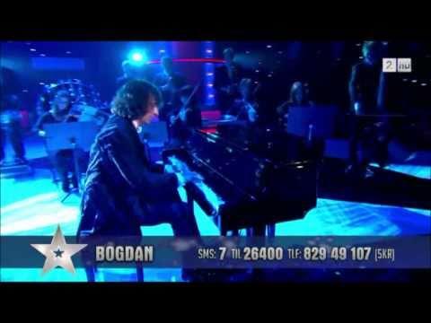 Bogdan Alin Ota - Norske Talenter 2011- Semifinale - Amazing piano player !
