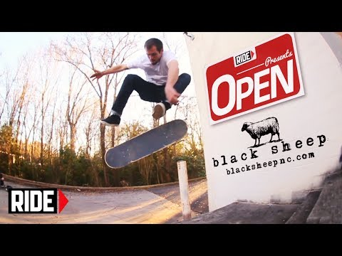"Black Sheep Skateshop - RIDE New Series ""Open"" EP 1"