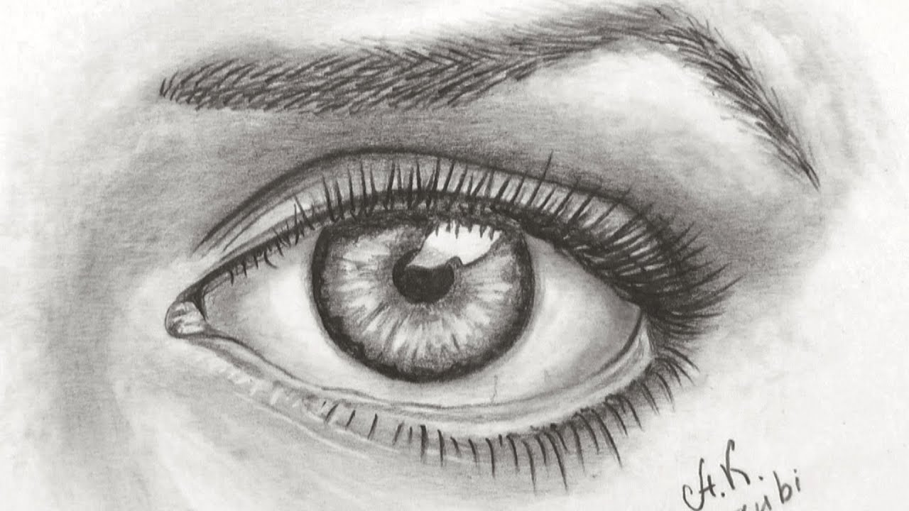 How To Draw A Realistic Eye With Promarkers Time Lapse ...