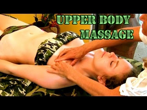 Massage Therapy Upper Body & Arms How To Techniques Athena Jezik Psychetruth ASMR