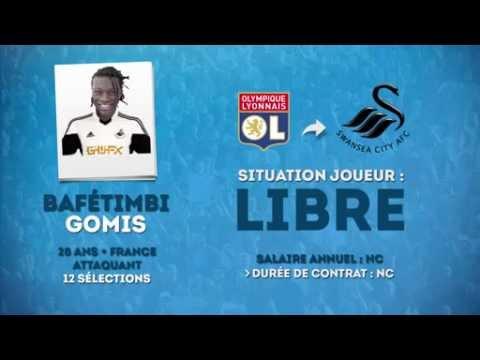 Officiel Bafétimbi Gomis rejoint Swansea