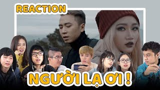 Schannel REACTION: Người Lạ Ơi! | Superbrothers x Karik x Orange