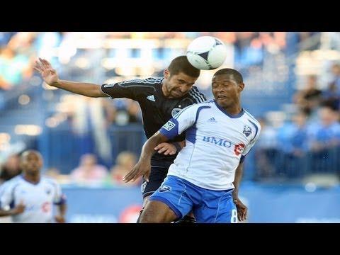HIGHLIGHTS: Montreal Impact vs Sporting Kansas City, July 4th, 2012