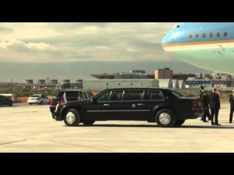 Raw: Obama Arrives in Russia for G-20 Meetings