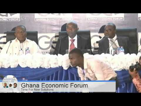 Ghana Economic Forum 2014, First Session