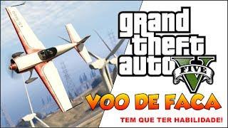(PS3)GTA 5 COMPLETANDO 100% VOOS DE FACA NO GTA 5