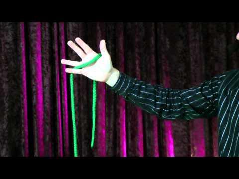 Akademia Magii - węzeł na sznurze - sztuczki magiczne z wyjaśnieniem