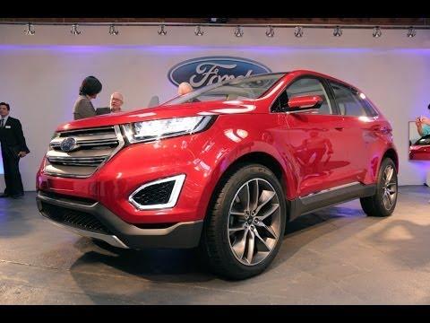 2015 Ford Edge Concept - 2013 L.A. Auto Show