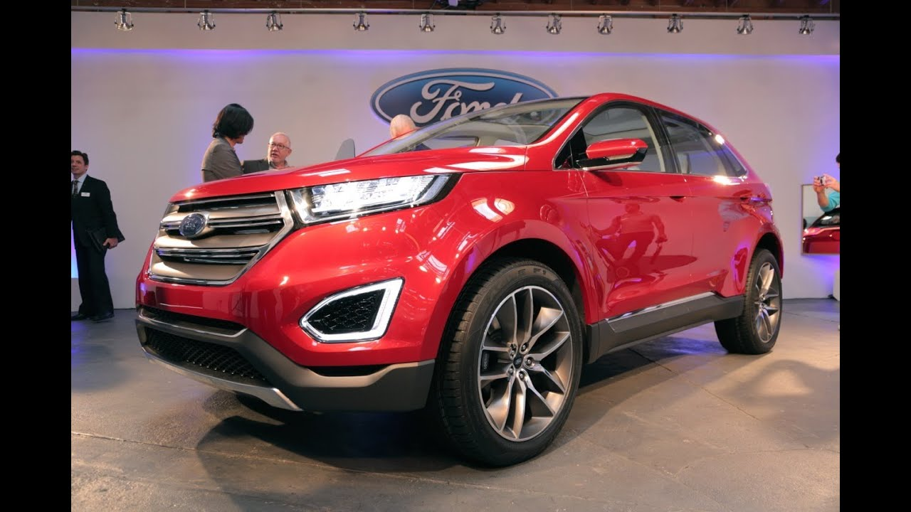 2015 ford edge concept 2013 l a auto show youtube. Black Bedroom Furniture Sets. Home Design Ideas