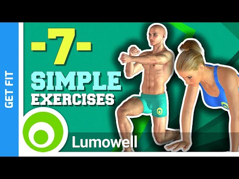 7 Simple Weight Loss Exercises at Home