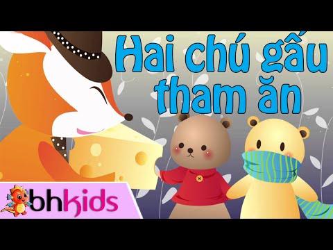 Hai Chú Gấu Tham Ăn - Truyện Ngụ Ngôn [Full HD]