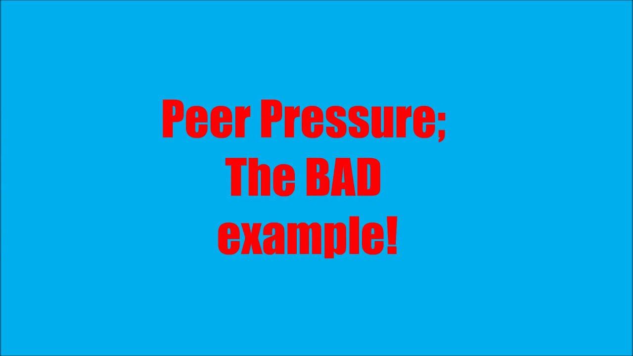 Essay Peer Pressure