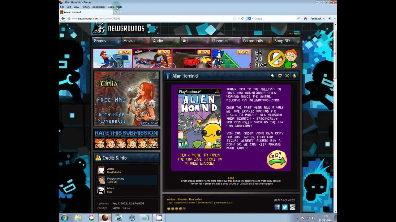 flash arcade game site