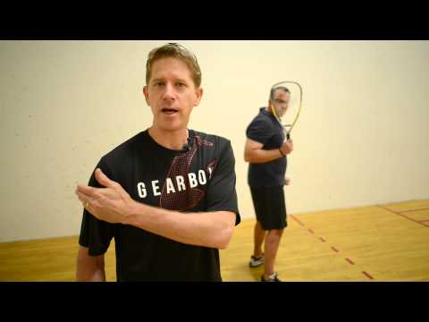 Racquetball Safety Rules Demonstration