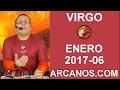 Video Horóscopo Semanal VIRGO  del 5 al 11 Febrero 2017 (Semana 2017-06) (Lectura del Tarot)