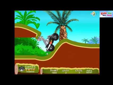 Hoạt hình Tom và Jerry: MÈO CHUỘT đua xe Moto trong rừng # Tom and Jerry: Tom Supper Moto