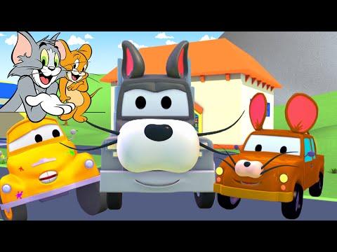 Tom và Jerry - cửa hàng sơn của Tom 🎨 l những bộ phim hoạt hình về xe