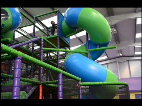 Indoor Playground Fun Cool Children's Play Center Ball Pool Slides Playroom | TheChildhoodlife