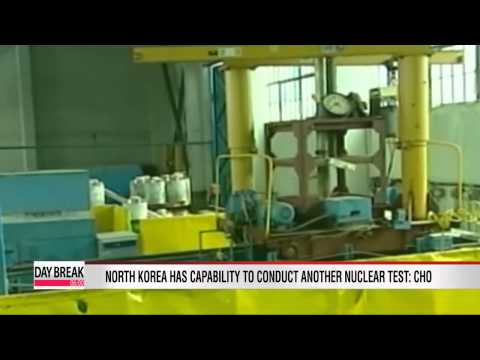 North Korea ready for another nuclear test: South Korean envoy