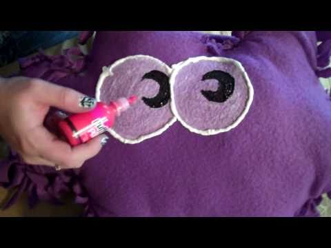 Moshling Pillow (No-Sew DIY) from Moshi Monsters