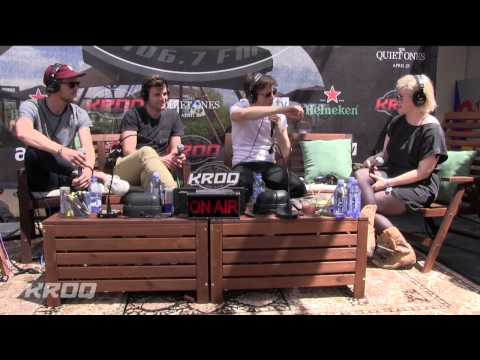 Foster The People Interview - KROQ Party House At Coachella 2014