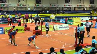Sepak Takraw Prince Cup 2014 Air Force Vs. Port