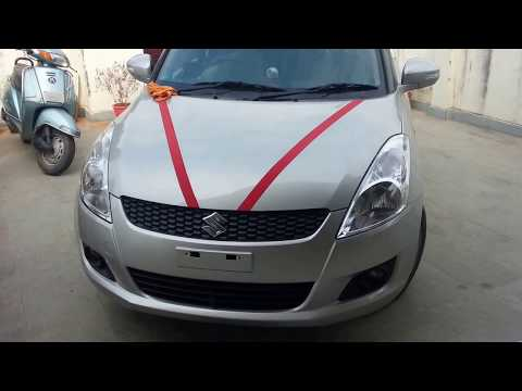 My All new Maruti Suzuki Swift vxi with camera