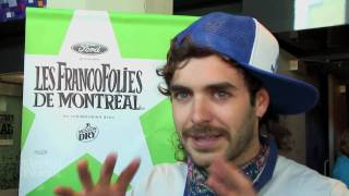 Alex Nevsky - Press Conference, 2010 Outdoor Concerts (in French)