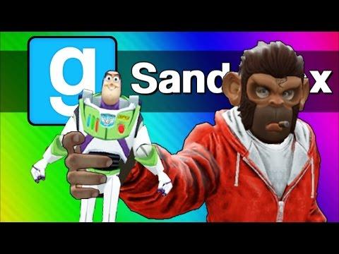 Gmod Sandbox - The Toys Escape! (Garry's Mod Skits & Funny Moments)