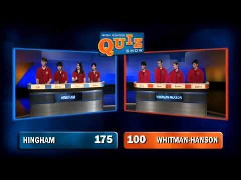 High School Quiz Show - Hingham vs. Whitman-Hanson