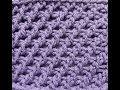 Punto # 5 en Crochet Tunecino
