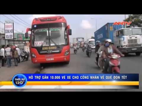 TP HCM hỗ trợ 10 000 vé xe, mang Tết đến cho công nhân