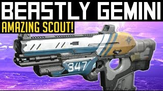 how to get boolean gemini scout rifle