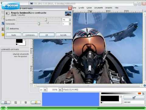 Gimp Videotutorial Italiano Parte 8 - Correzione colore