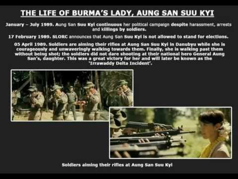 BURMA'S LADY AUNG SAN SUU KYI VIDEO PART 1.flv