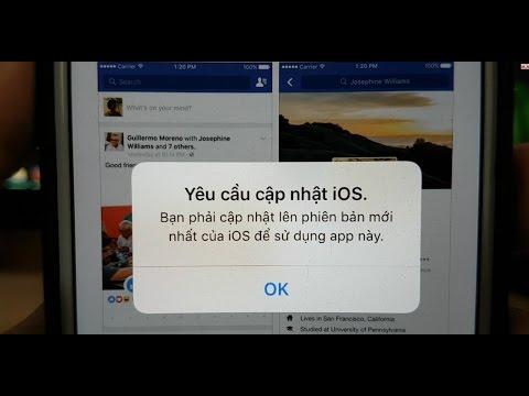 BacBa - Hướng dẫn cài đặt Facebook trên IOS 10 báo cập nhật IOS mới nhất