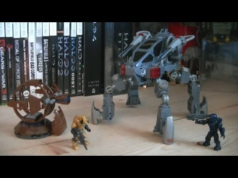 Halo Mega Bloks 97263 UNSC Quad Walker (ONI REAP-X) Review