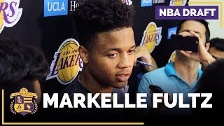 Lakers Workout Washington's Markelle Fultz (FULL INTERVIEW)