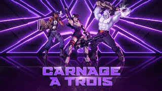 Agents of Mayhem - 'Carnage a Trois' Trailer