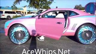 "AceWhips.NET- Big Boi's Outrageous Chevy Camaro On 30"" DUB"