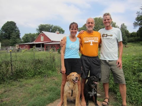 Permaculture Design Simplicity!  Visiting Paul & Melanie's Organic Farm!