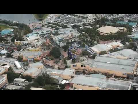 Helicopter Tour Above Orlando39s Theme Parks  Universal And Walt Disney W