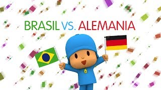 Copa Del Mundo Pocoyó 2014: Brasil Vs Alemania (Semifinal