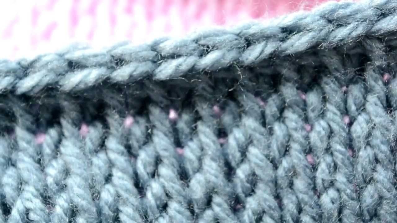 Crocheting Lessons : Crochet Lessons - How to work the Tunisian Knit Stitch - Part 1 ...