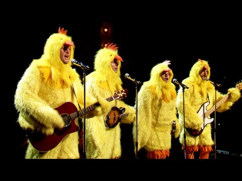 All-Clucking Version Of Lumineers'