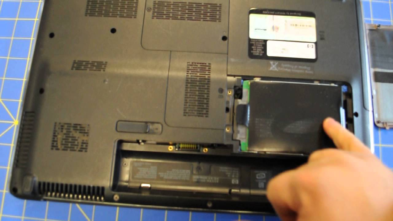 How To Remove Hard Drive From Hp Pavilion Dv5 Hd Laptop