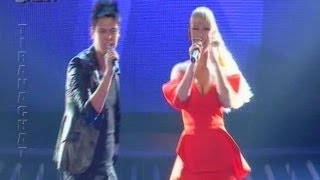 Kristo Thano & Tuna - Bileta vs Moves like Jagger (X Factor Albania Live Show 14)