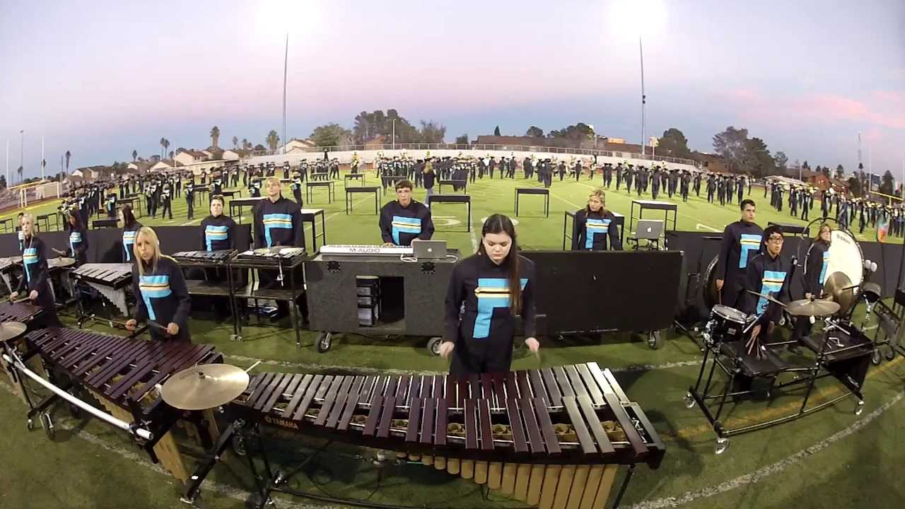 foothill high school marching band 2013 edited youtube